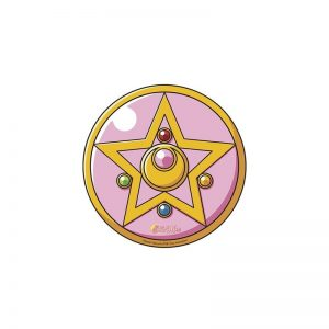 Sailor Moon Alfombrilla Ratón Broche Silueta