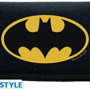 Batman Cartera Logo Navy