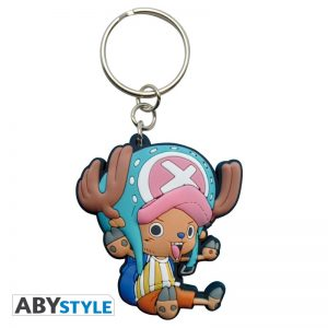 One Piece: Llavero Caucho Chopper.