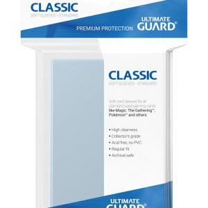 Ultimate Guard Fundas Classic Soft Tamaño Estándar Transparente (100)