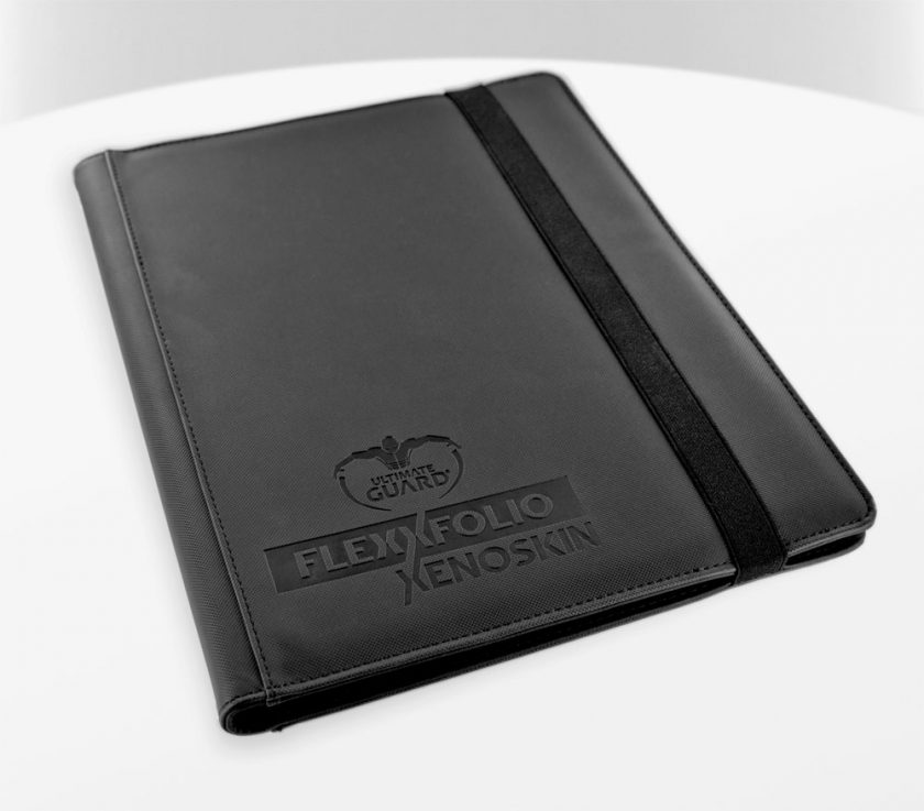 Ultimate Guard: Archivador 9 Bolsillos Flexxfolio Xenoskin Negro.