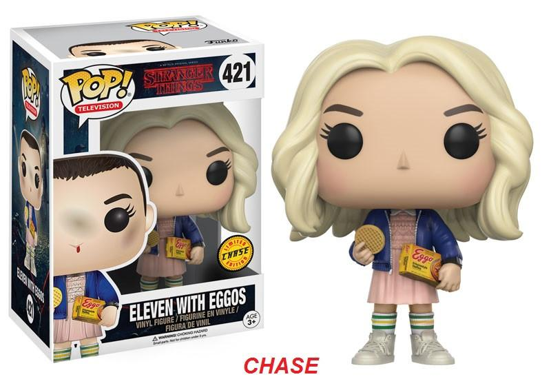 Stranger Things Figura Funko Pop Eleven with Eggos Chase