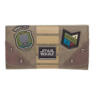 Star Wars Rogue One Monedero Rebel Patches