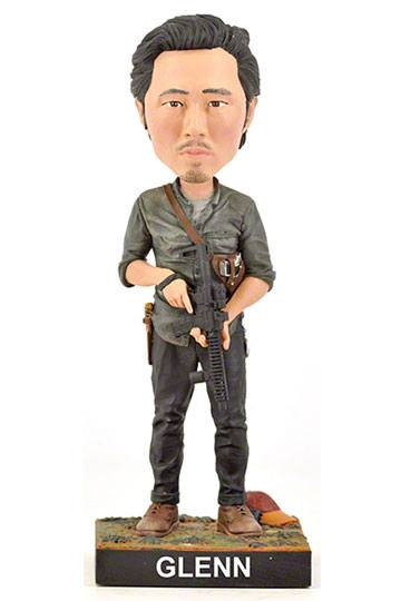 The Walking Dead Cabezón Glenn 20 cm
