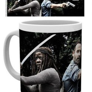 The Walking Dead Taza Rick Michonne
