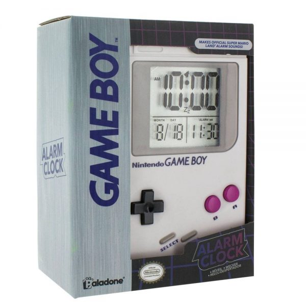 Nintendo Game Boy Reloj Despertador Game Boy