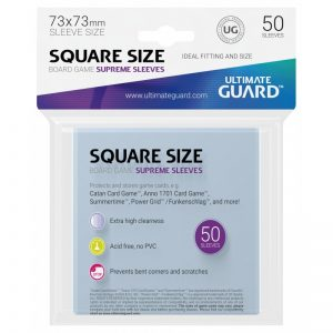 Ultimate Guard Supreme Fundas de Cartas Cuadrado (50) (73x73 mm)