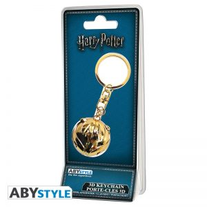 Harry Potter Llaver 3D Snitch Dorada
