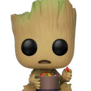 Guardianes de la Galaxia 2 Figura Funko Pop Groot & Candy Bowl