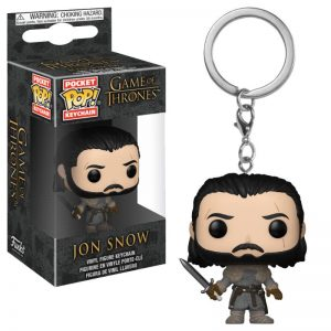 Juego de Tronos Llavero Funko Pop Jon Snow (Beyond the Wall)