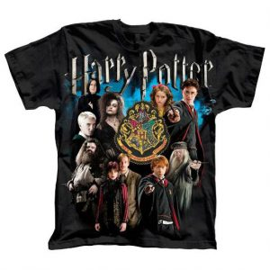 Harry Potter Camiseta Character Collage