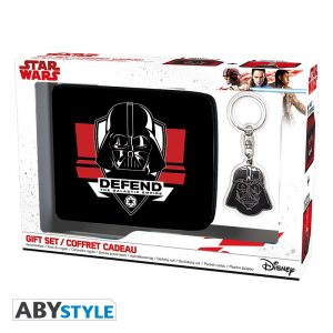 Star Wars Pack Cartera + Llavero Darth Vader