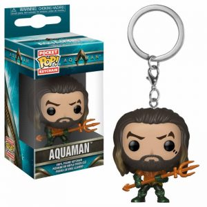 Aquaman Movie Llavero Funko Pop Arthur Curry as Gladiator