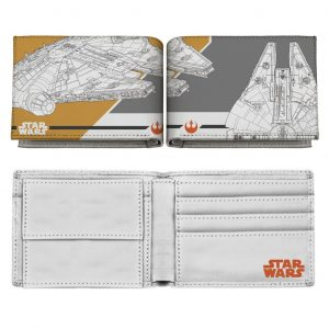 Star Wars Episode VIII Monedero Millennium Falcon Maps