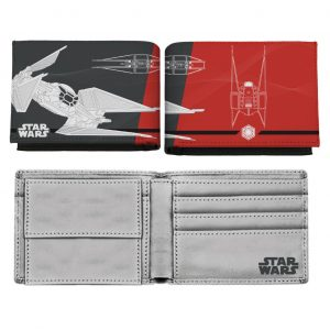 Star Wars Episode VIII Monedero Kylo Ren's TIE Silencer