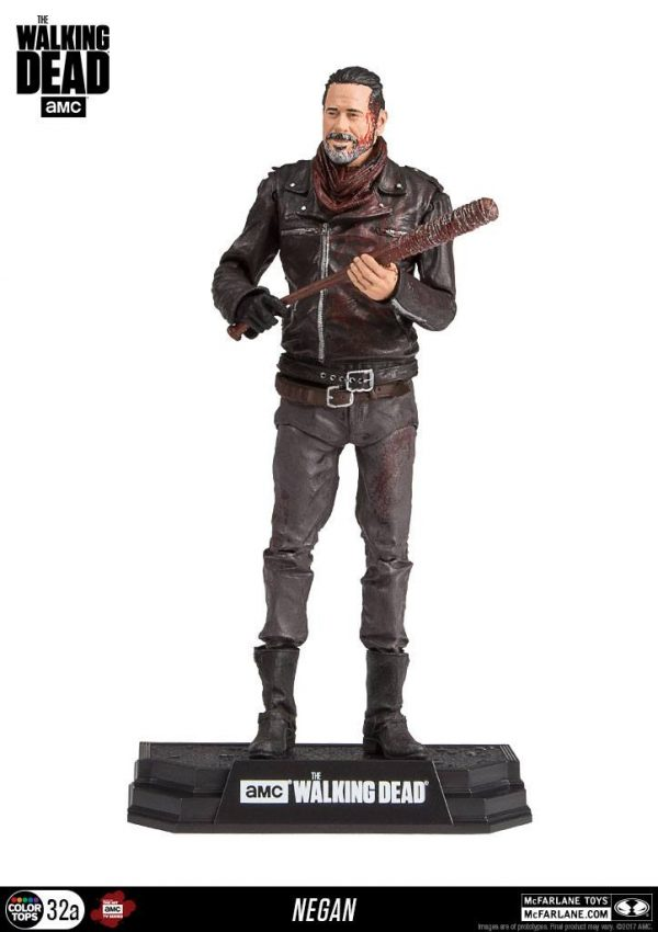 The Walking Dead TV Version Figura Negan Exclusive Bloody Edition