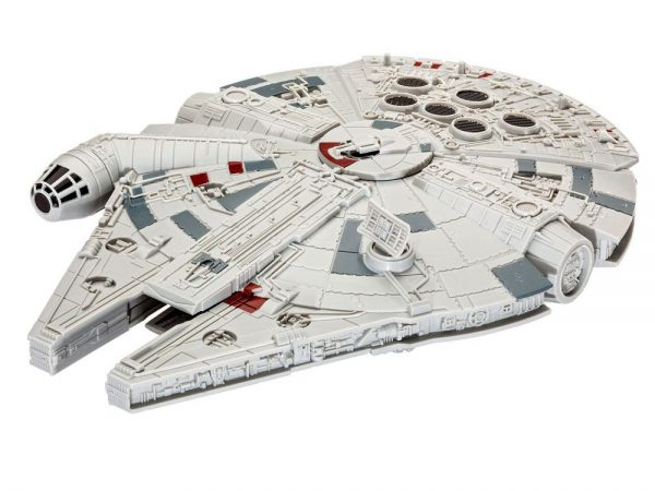 Star Wars Maqueta Build & Play con luz y sonido 1/164 Millennium Falcon