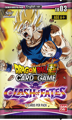 DragonBall Super Card Game Themed Booster 3 Clash Of Fate