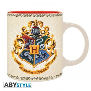 Harry Potter Taza 320 ml Hogwarts 4 Houses
