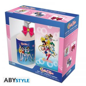 Sailor Moon Pck Taza 320ml + Llavero PVC + Libreta Sailor