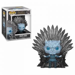 Juego de Tronos Figura Funko Pop Night King on Iron Throne