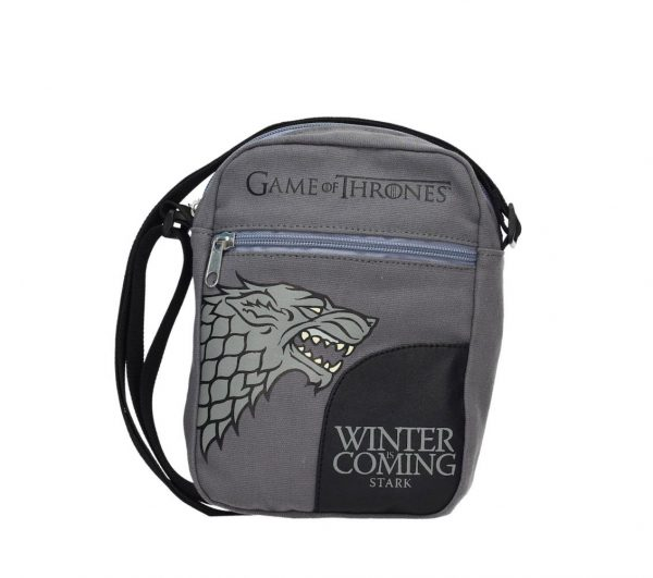 Stark Bolsa Pequeña Tela Canvas Game Of Thrones