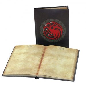 Targaryen Libreta Con Luz Game Of Thrones