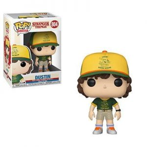 Stranger Things Figura Funko Pop Dustin (At Camp)