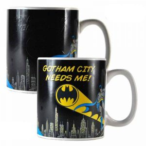 Batman Taza sensitiva al calor Batman