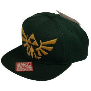 The Legend of Zelda Gorra Béisbol Snap Back Embroided Gold Logo