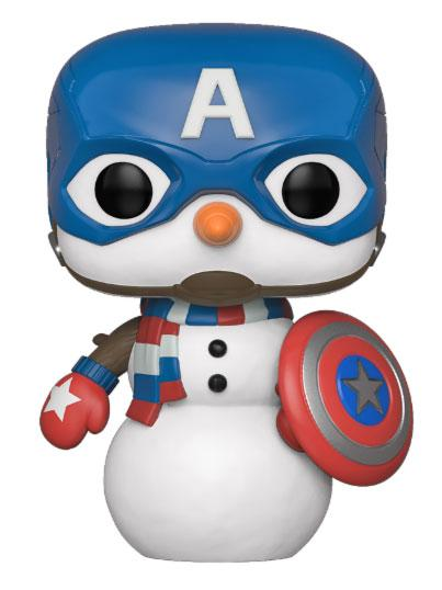 Marvel Holiday Figura Funko Pop Captain America