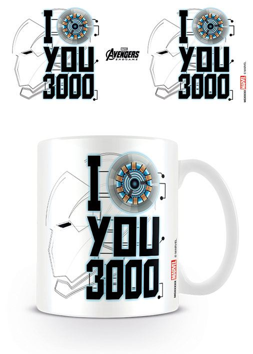 Vengadores: Endgame Taza I Love You 3000