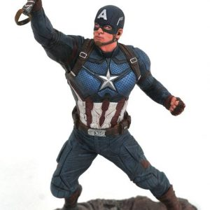 Avengers Endgame Marvel Gallery Estatua Captain America 23 cm
