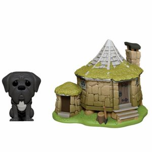 Harry Potter Figura Funko Pop Hagrid's Hut & Fang
