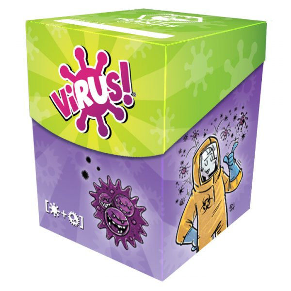 Virus! Deck Box + Fundas