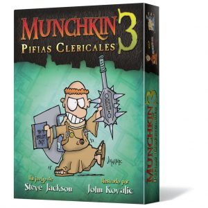 Munchkin 3 Pifias Clericales