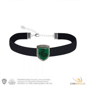 Harry Potter Collar con Colgante Slytherin