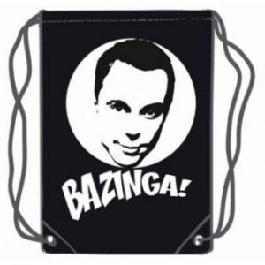 Big Bang Theory Bazinga Gym Bolsa