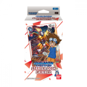 Digimon Card Game Starter Deck Gaia Red ST-1 (Inglés)