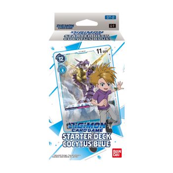 Digimon Card Game Starter Deck Cocytus Blue ST-2 (Inglés)