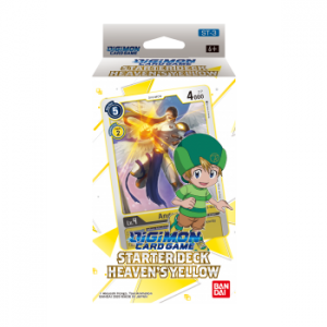 Digimon Card Game Starter Deck Heaven's Yellow ST-3 (Inglés)