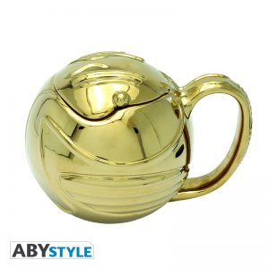 Harry Potter Taza 3D Snitch Dorada