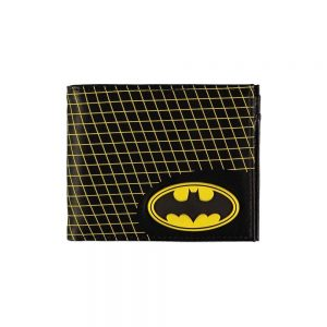 Batman Cartera Bifold Grid