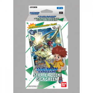Digimon Card Game Starter Deck Giga Green ST-4 (Inglés)
