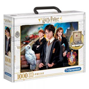 Harry Potter Puzzle Briefcase (1000 piezas)