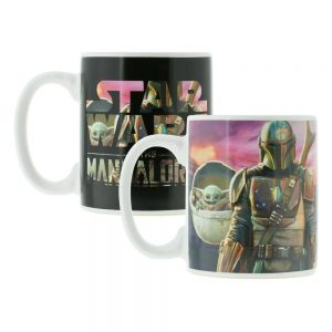 Star Wars The Mandalorian Taza sensitiva al calor The Mandalorian